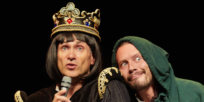 Horrible Histories Barmy Britain Part 4 (Photo: Mark Douet)