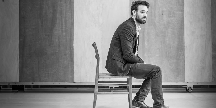 Charlie Cox in rehearsal for 'Betrayal'. Photo credit Marc Brenner