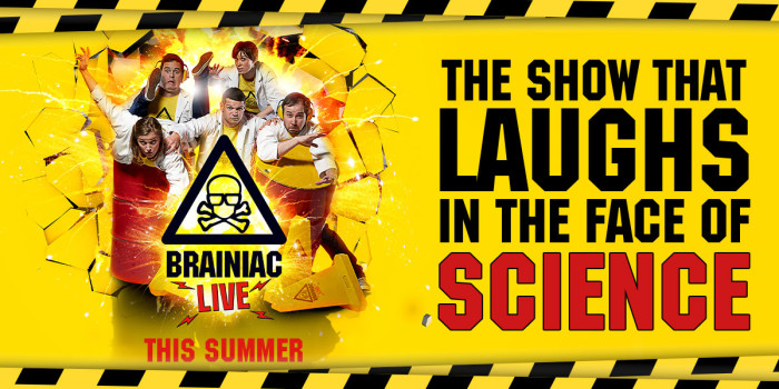 Brainiac Live comes to the West End's Garrick Theatre