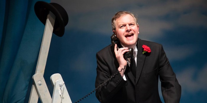 Miles Jupp in The Life I Lead. Photo credit: Piers Foley