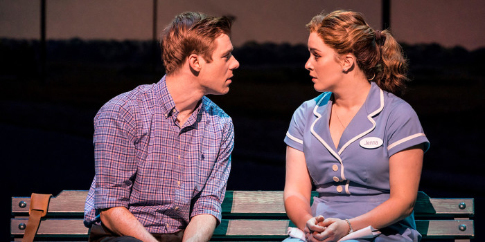 David Hunter and Lucie Jones in Waitress (Photo: Johan Persson)
