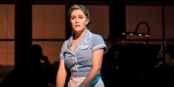 Lucie Jones in Waitress (Photo: Johan Persson)