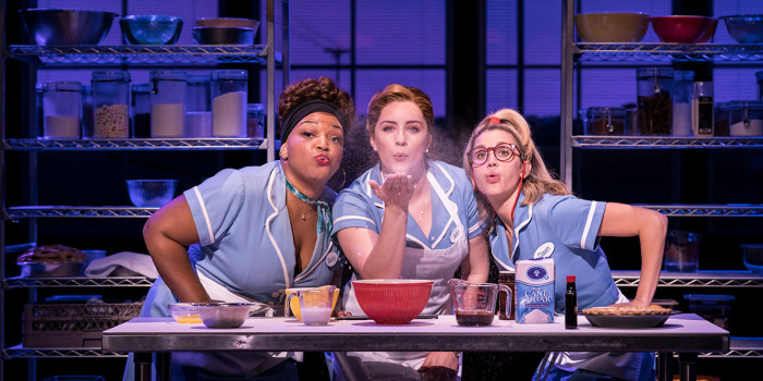 Marisha Wallace, Lucie Jones and Ashley Roberts in Waitress (Photo: Johan Persson)