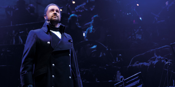 Michael Ball as Javert - Photograph Matt Murphy