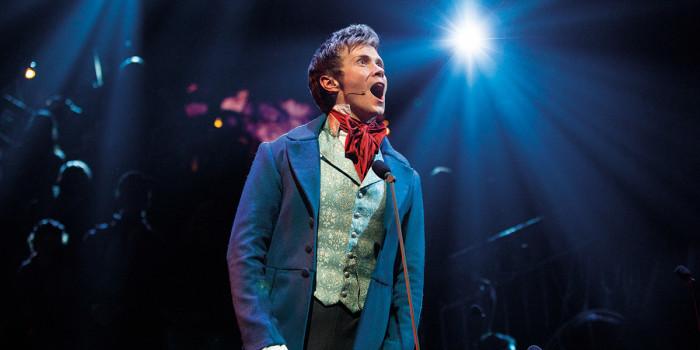 Rob Houchen as Marius - Photograph Matt Murphy