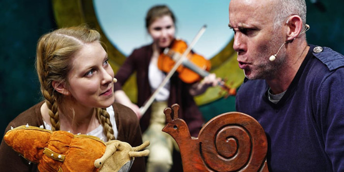 Children's shows this winter - The Snail and the Whale