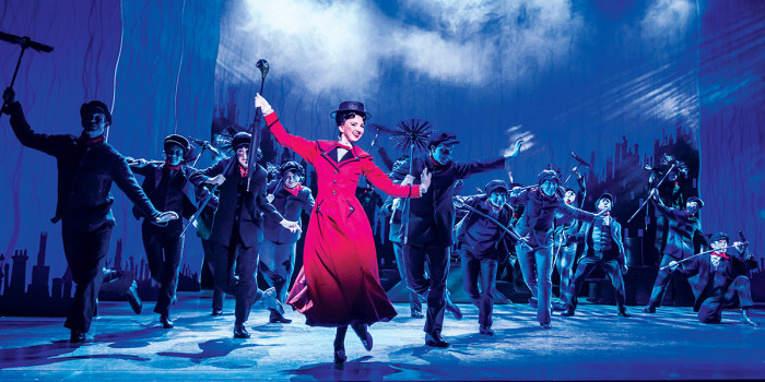 Step in Time - Zizzi Strallen and Company in Mary Poppins. Photo by Johan Persson.