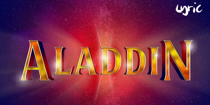 London shows 2021: Aladdin_Lyric Hammersmith artwork