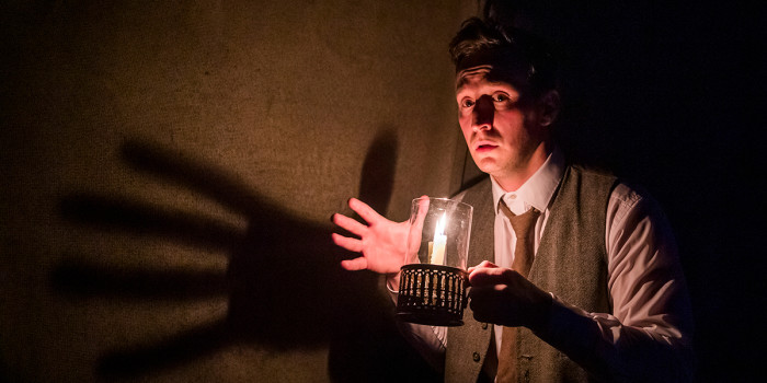 London shows 2021: Max Hutchinson in The Woman In Black. Photo by Tristram Kenton.