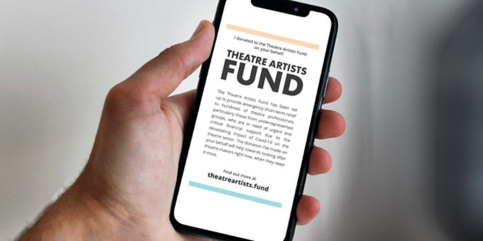 Theatre Artists Fund Phone