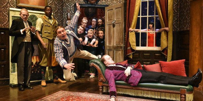 The Play that goes wrong 2021 tour cast