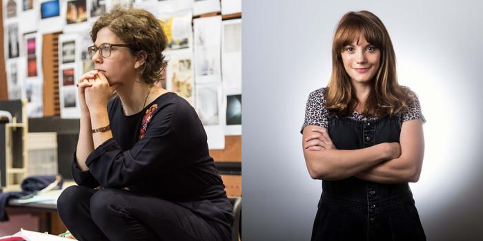 Director Abigail Graham and writer Vikki Stone.