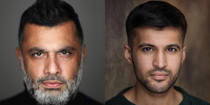 Irvine Iqbal and Qasim Mahmood. Credit Ivan Weiss.