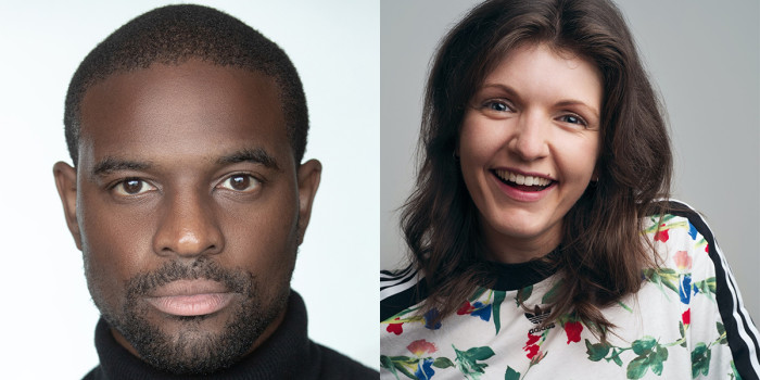 Stephan Boyce and Kate Donnachie. Photos by Michael Shelford and Chris Mann