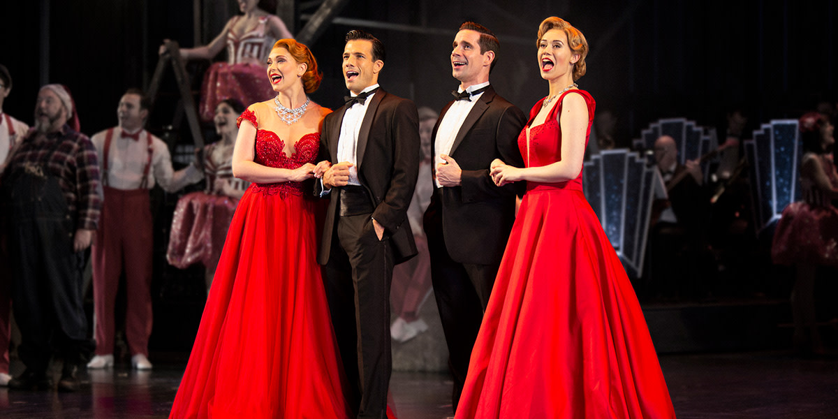 White Christmas Musical 2019 Family musical White Christmas transfers to Dominion Theatre this