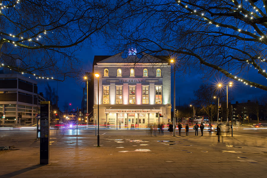 The Old Vic exterior (Photo: Manuel Harlan)