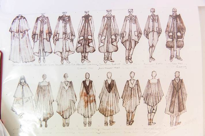 Costume designs for Harry Potter And The Cursed Child (Credit: Katrina Lindsay)