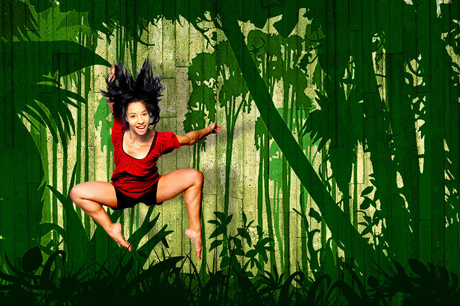 Jungle Book at the Underbelly Festival Southbank