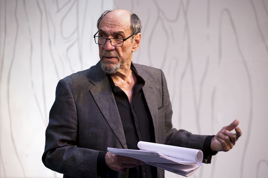F. Murray Abraham in The Mentor (Photo: Simon Annand)