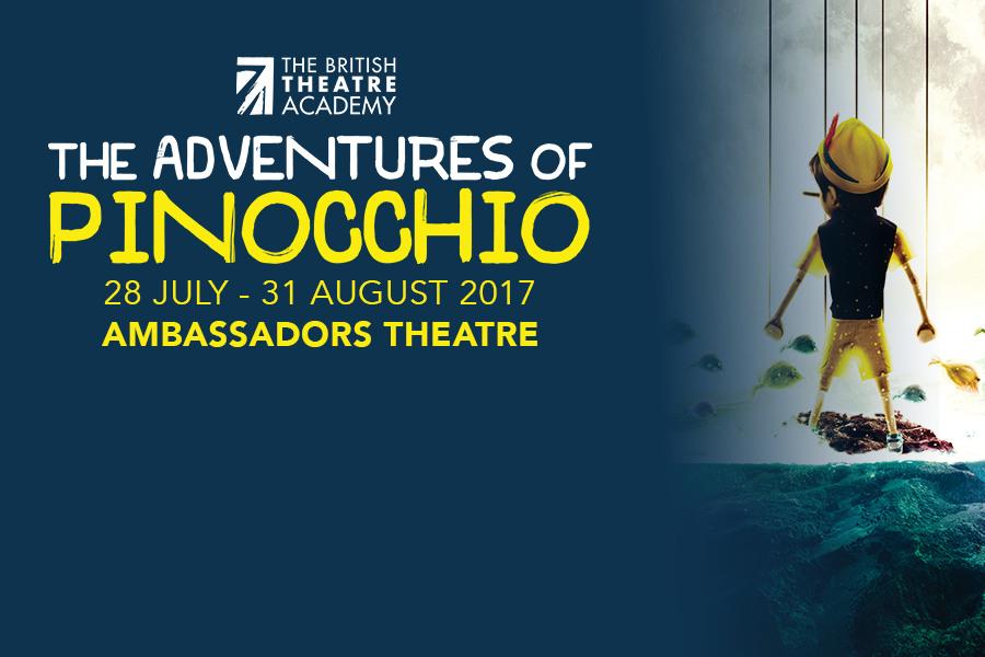 The Adventures Of Pinocchio at Ambassadors Theatre