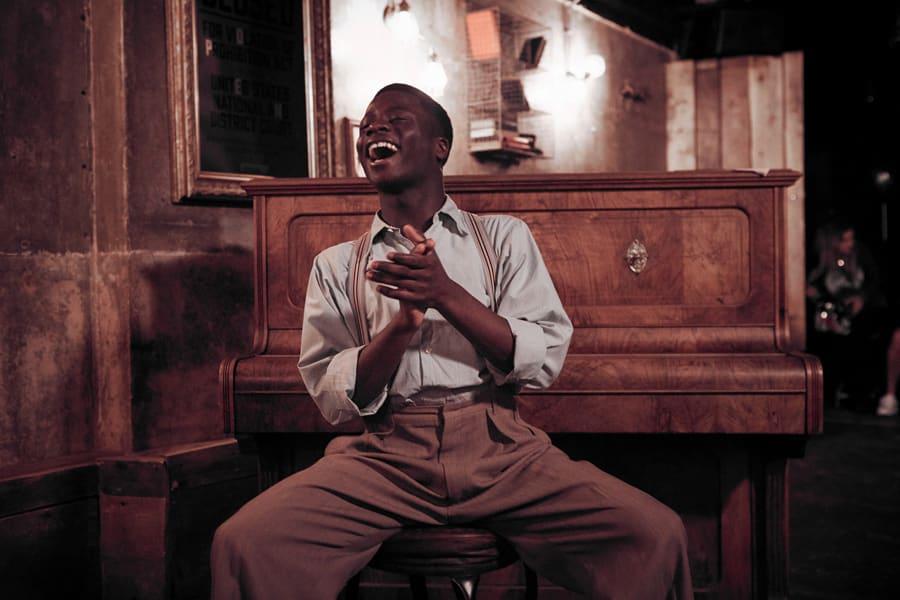Idriss Kargbo will play Little Moe in Five Guys Named Moe (Photo: Graham Michael)