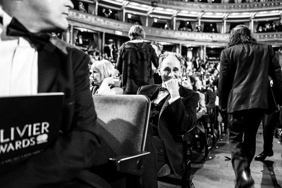 Mark Rylance at the Olivier Awards with Mastercard (Credit: Matt Humphrey)