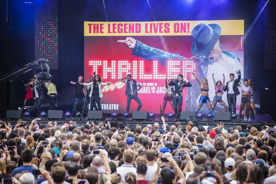 Thriller Live at West End LIVE 2017 (Photo: Pamela Raith)