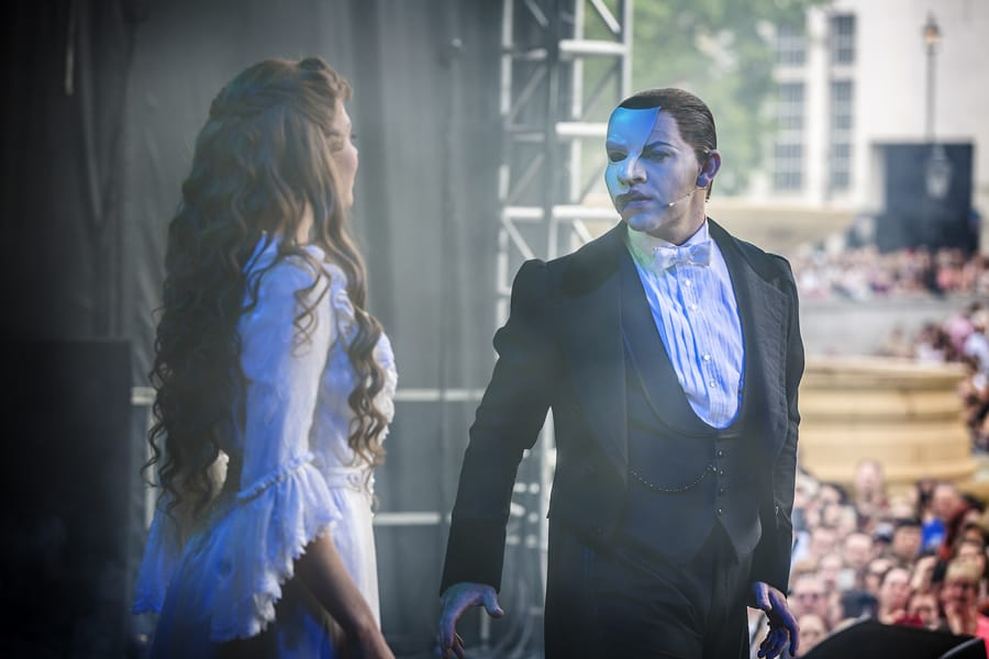 The Phantom Of The Opera at West End LIVE 2017 (Photo: Pamela Raith)