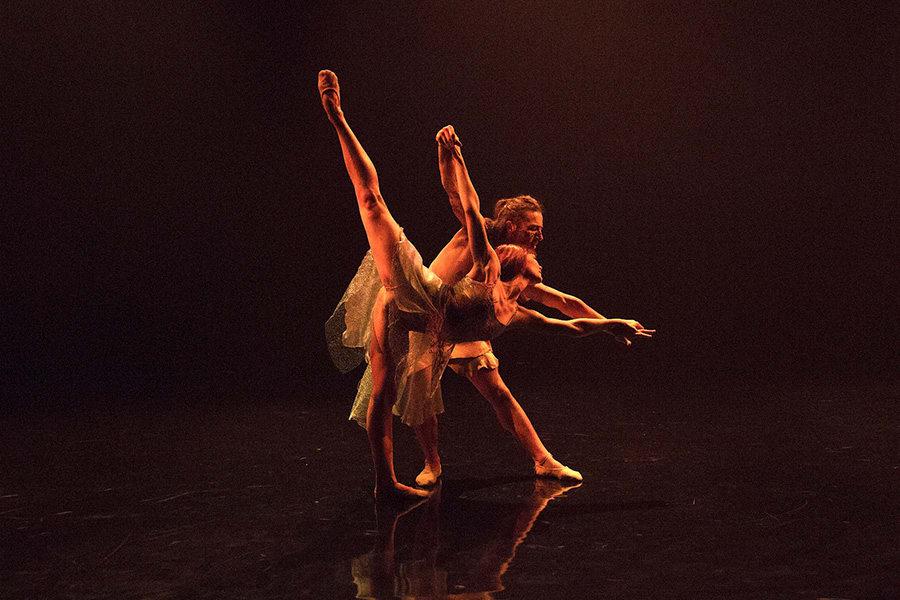 Rachel Maybank & Liam Burke in Voices Of The Amazon (Photo: Giulietta Verdon Roe)