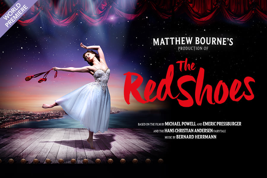 Matthew Bourne's The Red Shoes - 900x600