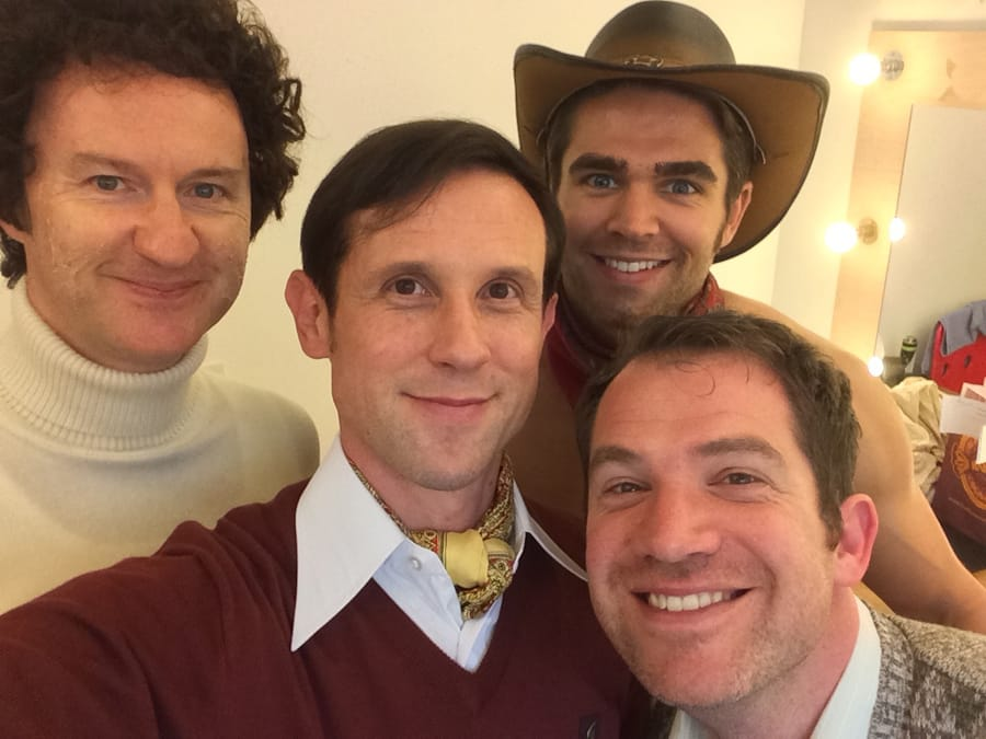 20. Ian Hallard: A Day In Life of The Boys In The Band technical rehearsals