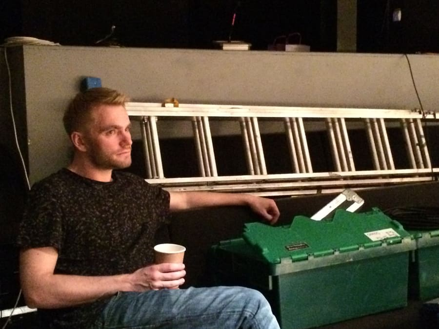 12. Ian Hallard: A Day In Life of The Boys In The Band technical rehearsals