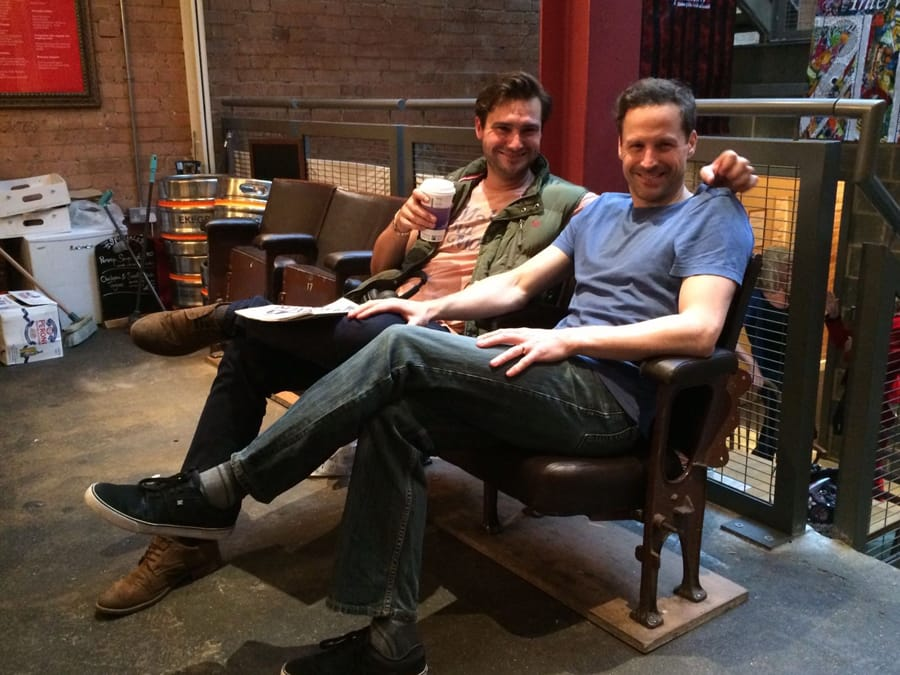 23. Ian Hallard: A Day In Life of The Boys In The Band technical rehearsals