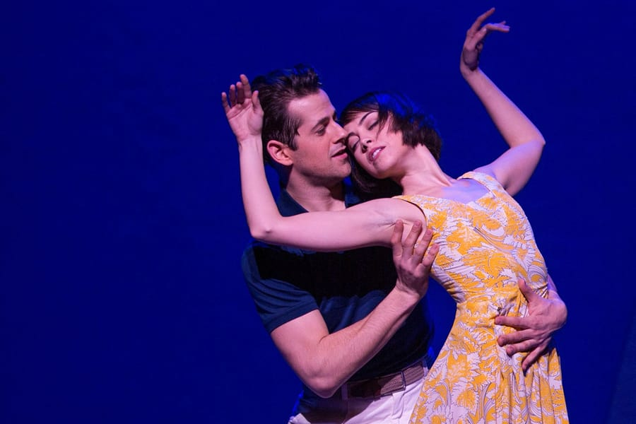 Robert Fairchild and Leanne Cope in An American In Paris (Photo: Matthew Murphy)