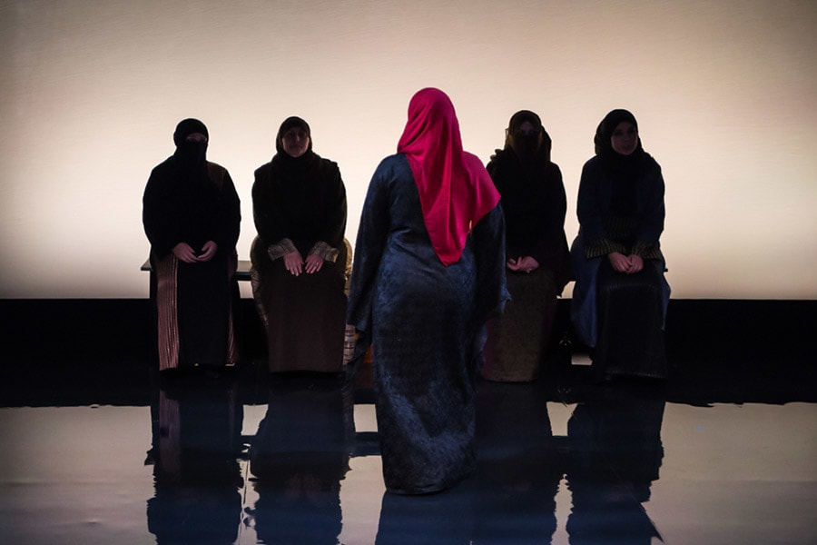 The company of Queens Of Syria (Photo: Vanja Karas)