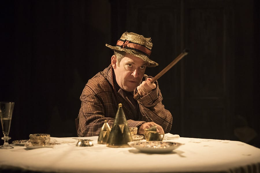 Tom Hollander in Travesties at the Menier Chocolate Factory (Photo: Johan Persson)