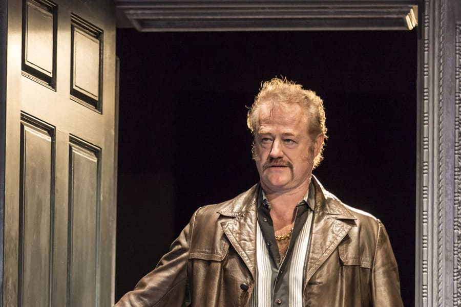 Owen Teale in No Man's Land (Photo: Johan Persson)