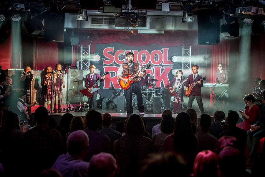 The School Of Rock - The Musical press launch (Photo: Craig Sugden)