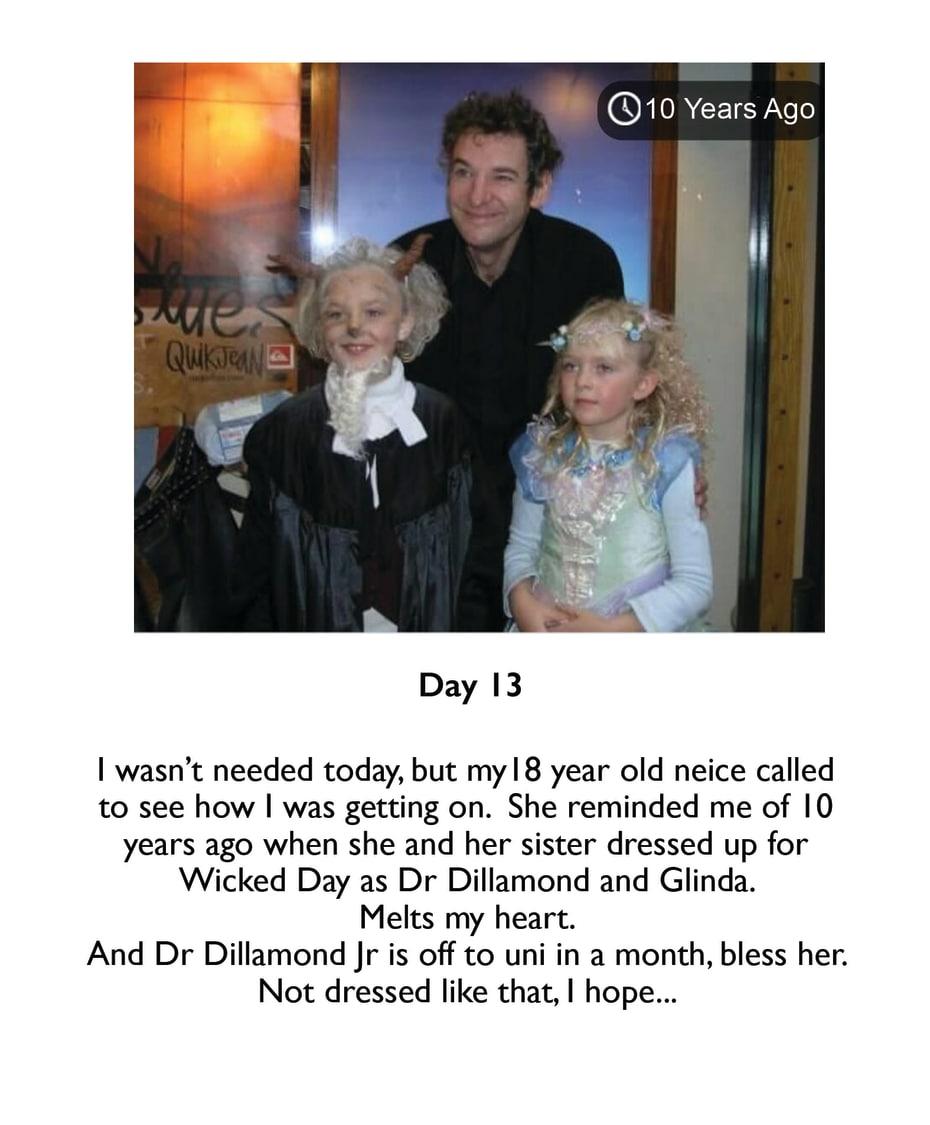 8. Martin Ball photo diary