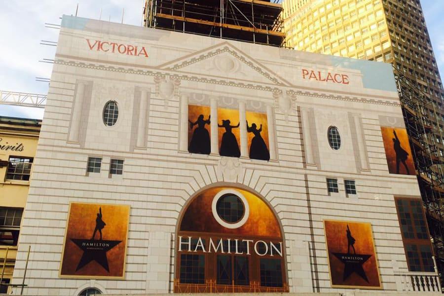 Hamilton hoarding