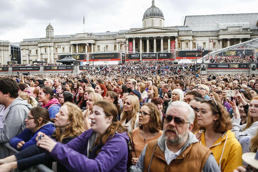 The crowds at West End LIVE 2016 (Photo: Pamela Raith)