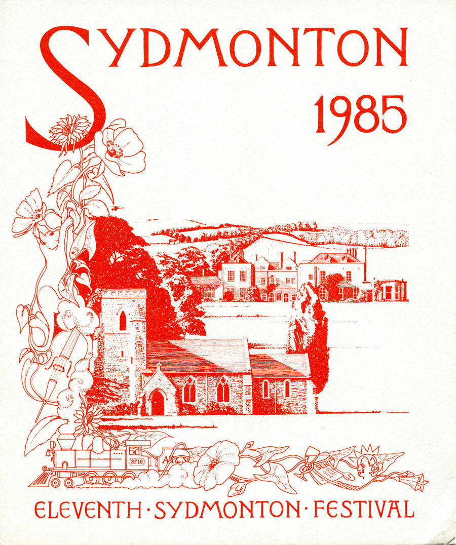 1_Programme for the 1985 Sydmonton Festival, where Phantom received its debut