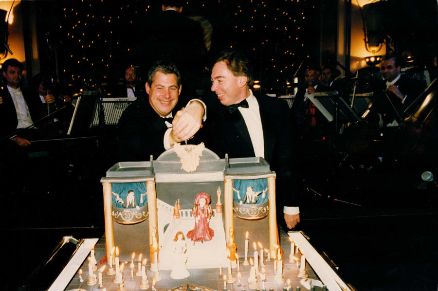 6_Phantom 10 Anniversary, Cameron MACKINTOSH & Andrew Lloyd WEBBER, London1996 Photo Alan Davidson