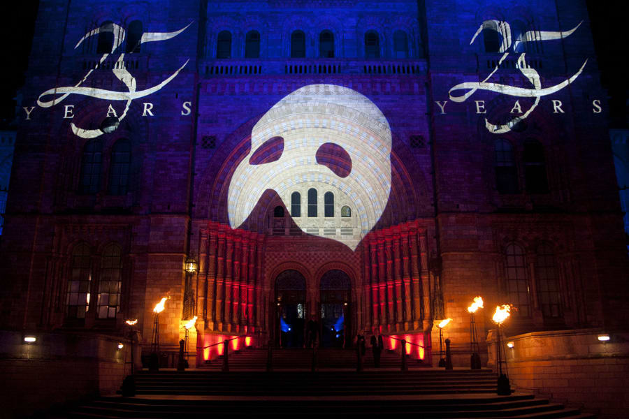 7_The Phantom 25th Anniversary performance party at London's National Gallery