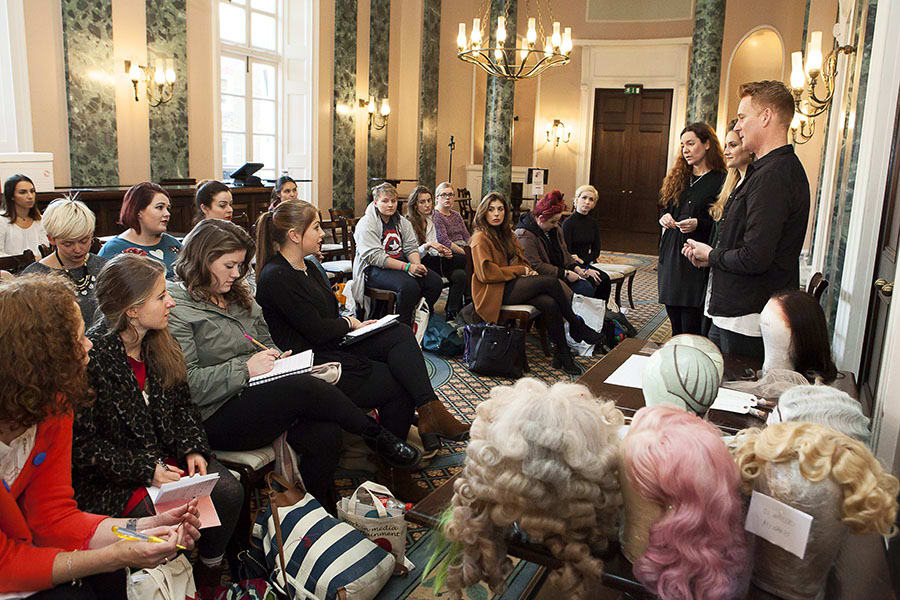 A workshop at TheatreCraft 2015 (Photo: Alex Rumford)