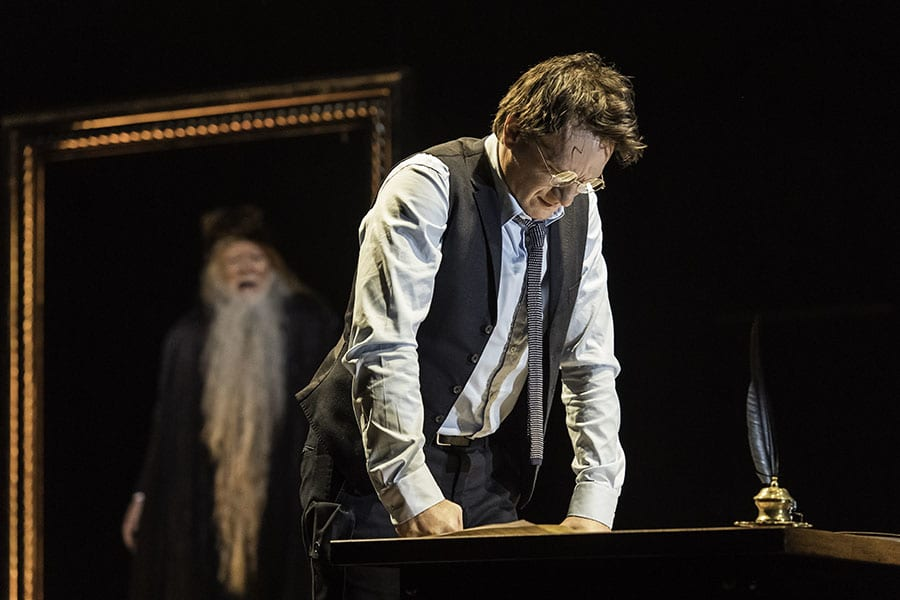 Jamie Parker in Harry Potter And The Cursed Child at the Palace Theatre (Photo: Manuel Harlan)