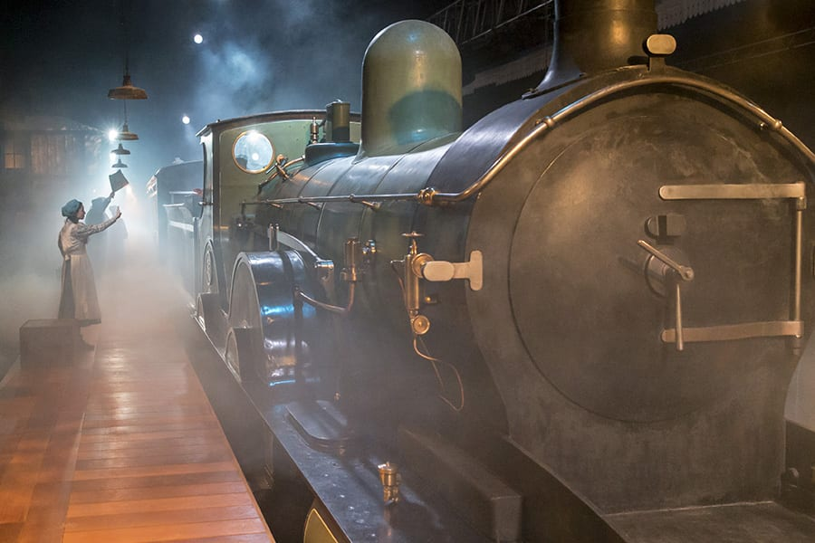 The Railway Children, now playing at King's Cross Theatre (Photo: Johan Persson)