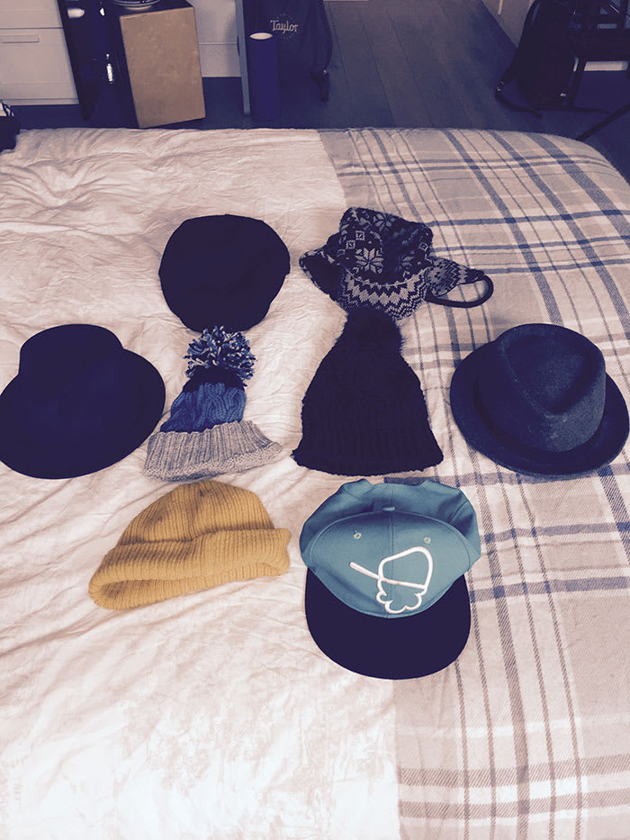 Craig Mather's hats