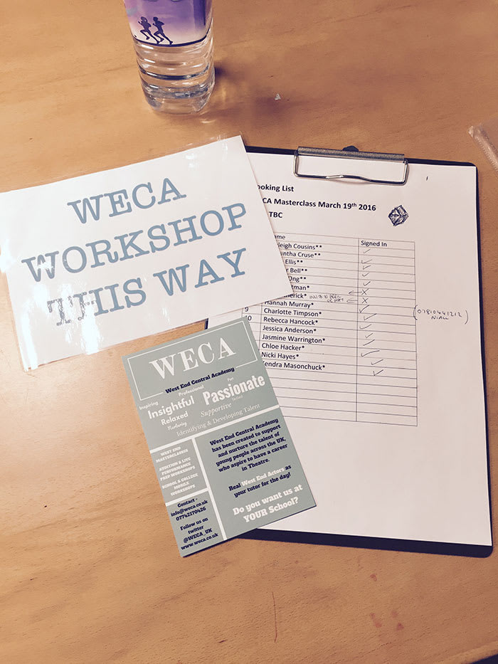 Craig Mather's Weca workshop