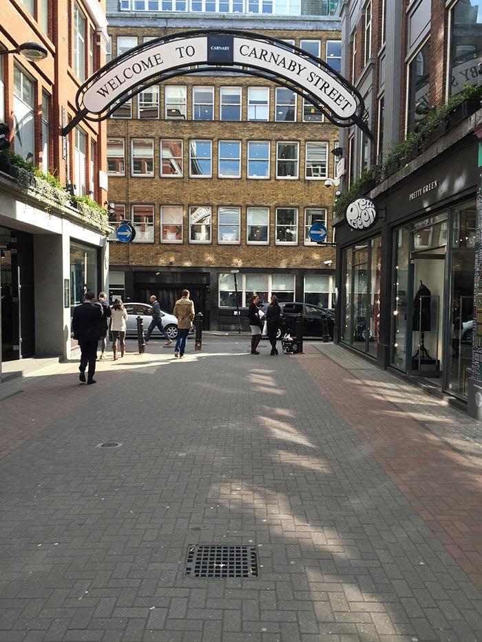 Dayle Hodge - Carnaby Street